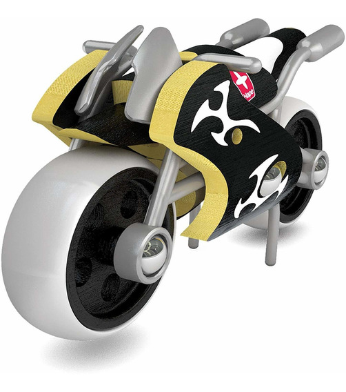 Motocicleta De Juguete Hape E-supermoto