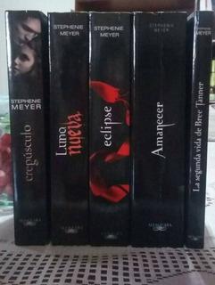 Libros: Saga Crepúsculo, Trilogía Los Juegos Del Hambre.