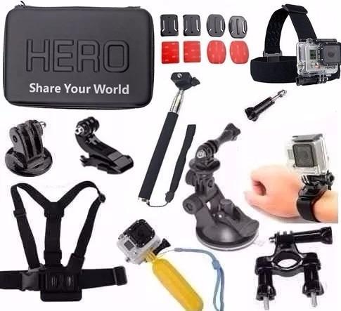 Kit P Gopro Hero Silver Black Hero 5 Hero 6 Xiaomi Cam Hd