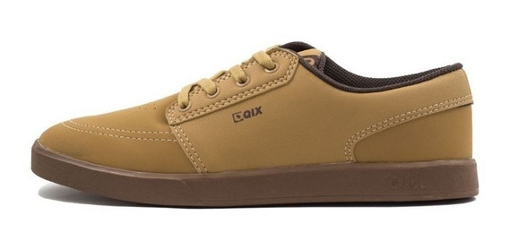 Tênis Qix Next Caramelo Natural Original Casual Sneakers