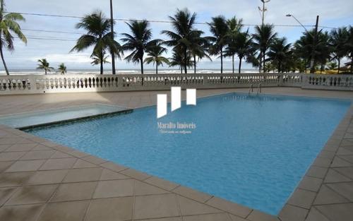 Apartamento Com Vista Para O Mar Na Praia Grande Sp.