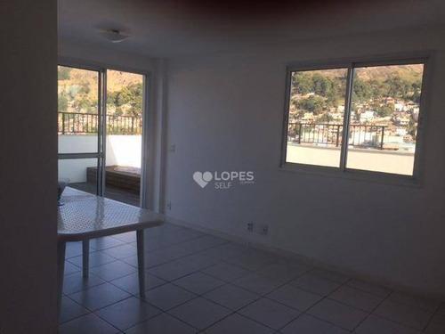 Imagem 1 de 21 de Cobertura Com 3 Dormitórios À Venda, 148 M² Por R$ 730.000,00 - Santa Rosa - Niterói/rj - Co2199