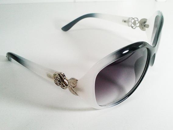 Óculos Proteção Uv400 - Flor - Degradê Lilás