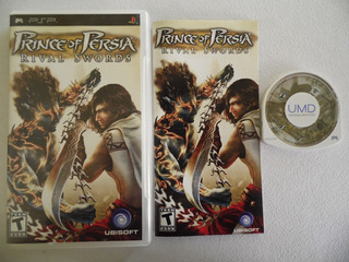 Prince Of Persia Rivals Swords De Psp