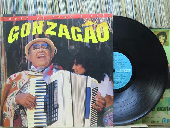 Luiz Gonzaga Forró De Cabo A Rabo Lp Rca Victor 1986 Stereo