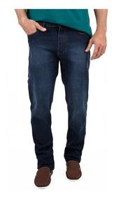 Calça Jeans 5 Pocket Com Elastano E Leves Puídos Jcanedo