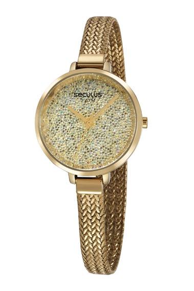 Relógio Seculus Feminino 13036lpsvds1