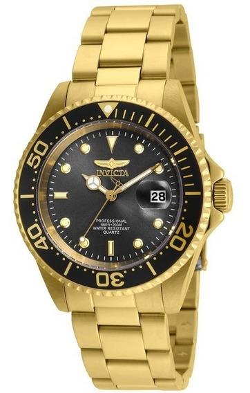 Relógio Pulso Luxo Pro Diver 200m Quartzo Invicta Original