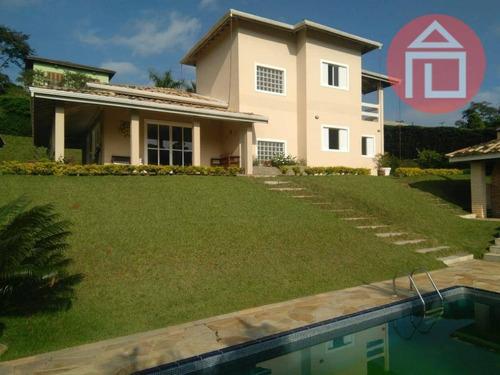 Casa Com 3 Dormitórios À Venda, 260 M² Por R$ 1.040.000,00 - Condomínio Jardim Das Palmeiras - Bragança Paulista/sp - Ca2270