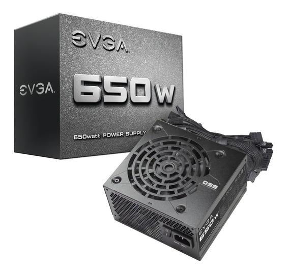 Fonte Atx Evga 650w Real Bivolt Automático Gamer Lacrada