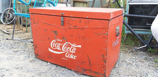 Caixa Térmica Coca Cola Antiguidade