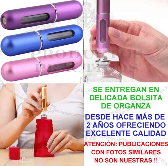 Regalo Día Del Maestro Mini Perfumero Recargable X 5ml