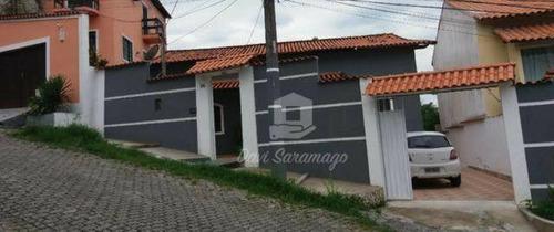 Casa Com 3 Dormitórios À Venda, 136 M² Por R$ 470.000,00 - Maria Paula - São Gonçalo/rj - Ca0511