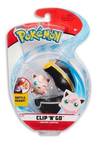Pokémon Poké Bola Clip N Go Original