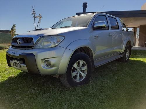 Toyota Hilux 3.0 I Srv Cab Doble At 4x4 Cuero 2010