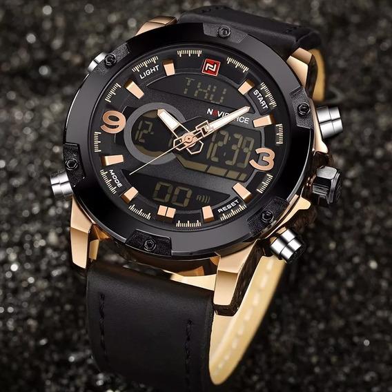 Relógio Masculino Naviforce Esportivo Luxo Original
