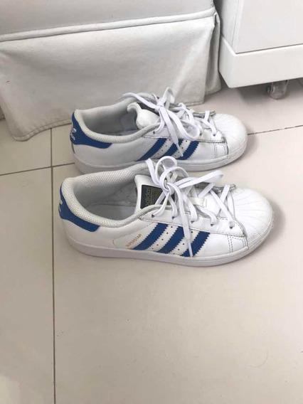 Tênis adidas Original! Tam 30. Superstar.