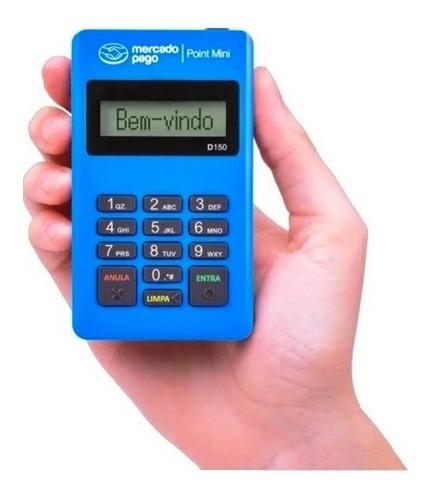 Maquininha Aceita Cartão Com Chip Mini Point Credito/debito