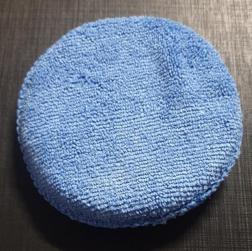 Imagen 1 de 1 de Aplicador Microfibra Para Cera De Auto Suave Extra Grande