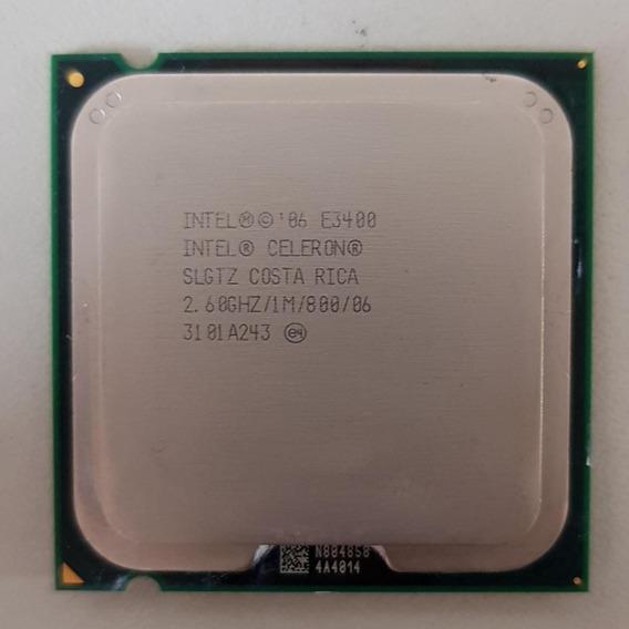 Processador Celeron E3400 2.6ghz 1m 800mhz Lga 775 Usado