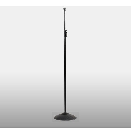 Pedestal Studio Reto P/ Microfone Base Pesada Vector Pmv03rt