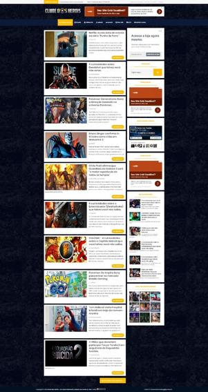 Blog Clube Dos Heróis