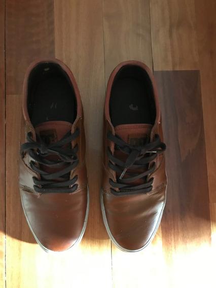 Zapatillas Dc Shoes Cuero Camel 42,5