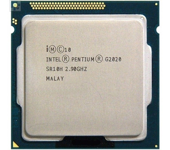 Processador Pentium Dual Core 3ª Ger. Lga 1155 G2020 2,9ghz