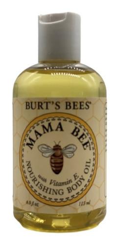 Aceite Nutritivo Burt's Bees Para El Cuerpo Mama Bee - 4 Oz