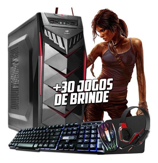 Cpu Gamer 4gb Hdmi Otimo Desempenho