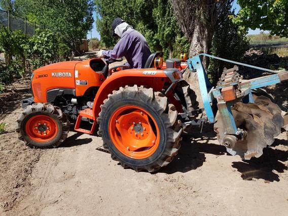 Tractor Japones Kubota L3800 Frutícola