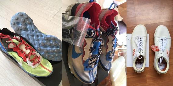 Vans Nasa + Nike Undercover Element 87 Volt Y Chalk Pack %10