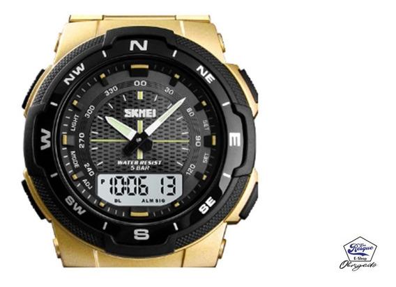 Relógio Skmei 1370 Digital Analógico Prova Dágua