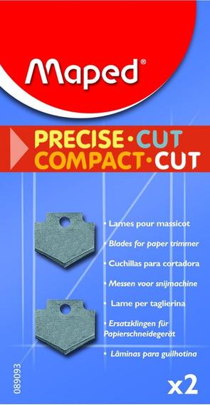 Repuesto Guillotina Maped Compact Cut X 2 Unidades