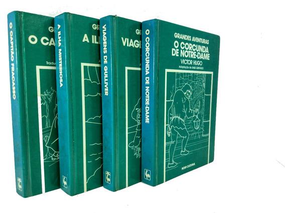 Grandes Aventuras Literatura Estrangeira - Quatro Livros