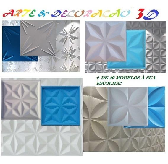 4 Formas De Abs P Gesso 3d Borracha Eva E Brinde Grátis; Md