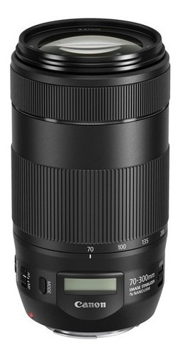 Imagem 1 de 10 de Lente Canon Ef 70-300mm F/4-5.6 Is Ii Usm Garantia Brasil