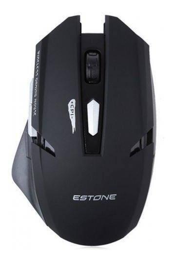Mouse Gamer Sem Fio Wireless Notebook Pc Estone