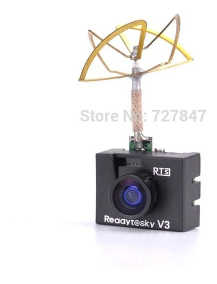 Mini Camera Fpv 5.8g 1000tvl Com Transmissor E Antena 3x1