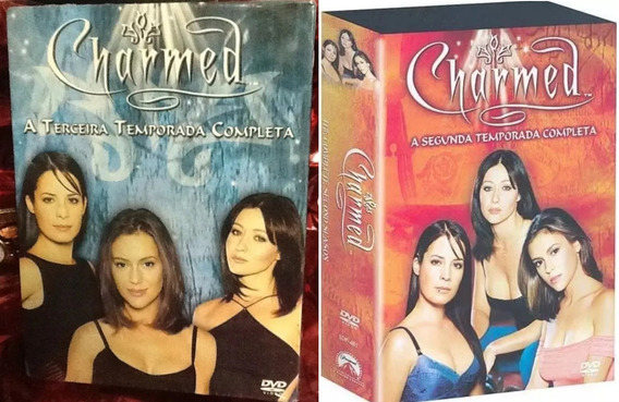Box Original: Charmed - 2ª + 3ª Temporada - 12 Dvd