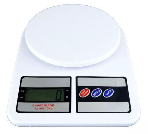 Balança Digital De Precisão Cozinha 10kg Nutrição E Dieta