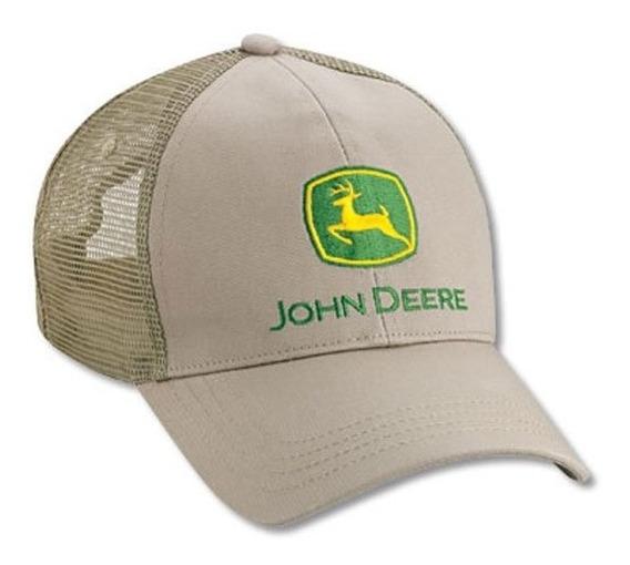 Cachucha John Deere 100% Original Gorra Malla Modelo Lp27820