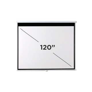 Pantalla Proyector Femmto 120 Pulgadas Manual Pared Techo