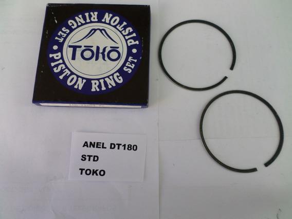 Anel De Pistao Yamaha Dt180 Stander Toko - Lote 5 Peças - Jogo