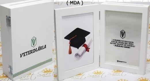 Porta Retrato Cofre Formatura (formato Caixa) Mda