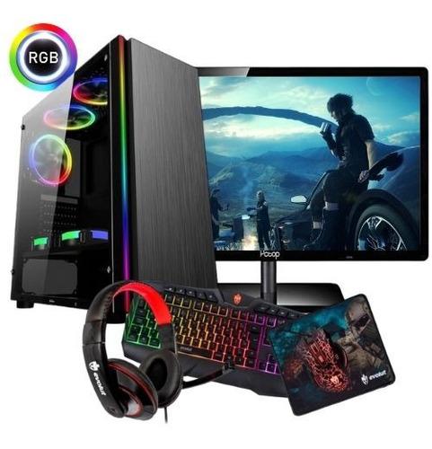 Imagem 1 de 1 de Pc Gamer Amd A4 6300 3.9 Ghz Gta 8gb 1000g Roda Games Atuais