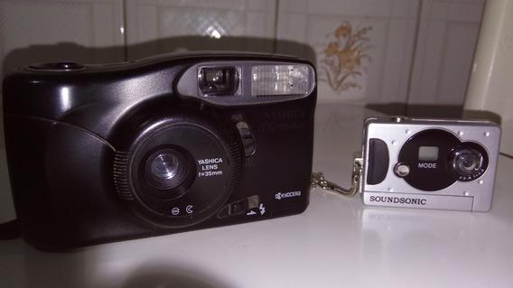 Antiguidades Máquina Fotografica Sony E Yashica