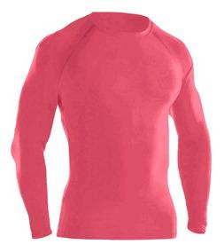 Camisa Térmica Segunda Pele Manga Longa Com Proteção Uv