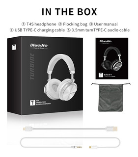 Auriculares Hifistereo Bluetooth Con Reducción De Ruido