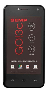 Semp GO! 3c Dual SIM 8 GB Preto 512 MB RAM
